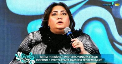 pastora Yonara Santo que afirma ter ido ao inferno mais de 15 vezes e ao ceu 7 vezes. noticias ajduks